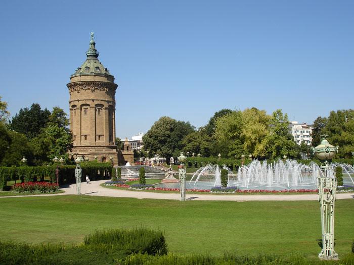 Der Wasserturm – das Wahrzeichen Mannheims