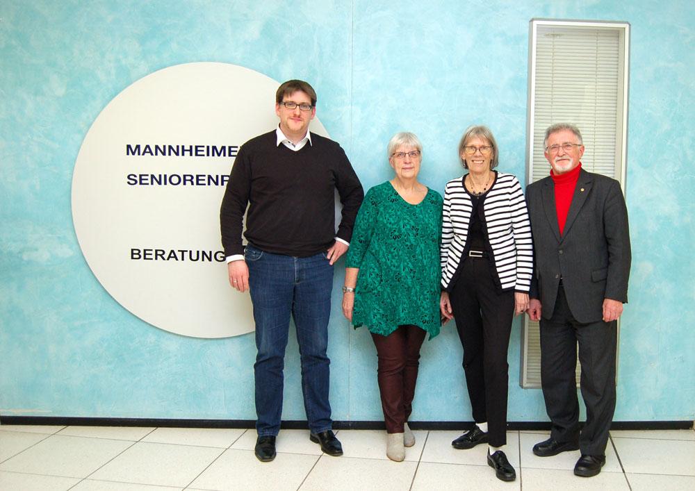 Mannheimer Seniorenrat e.V. hat neuen Vorstand gewählt