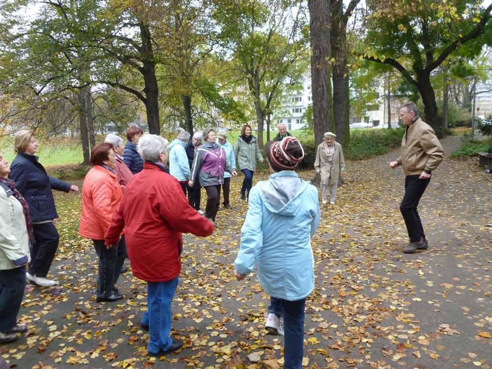 Das 3000-Schritte-Programm des Seniorenrats Mannheim