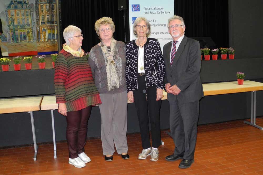 Verleihung des Mannheimer Seniorentalers 2019