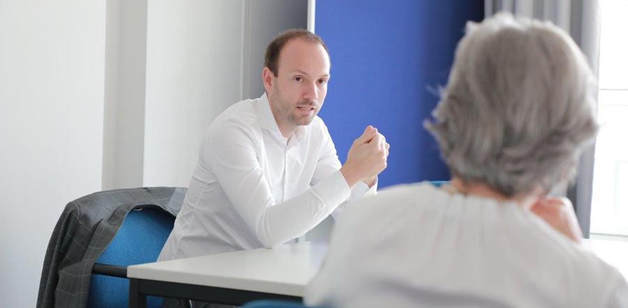 Gedankenaustausch mit der aktiven Politik: Stadtrat Nikolas Löbel, MdB beim Mannheimer Seniorenrat e.V.