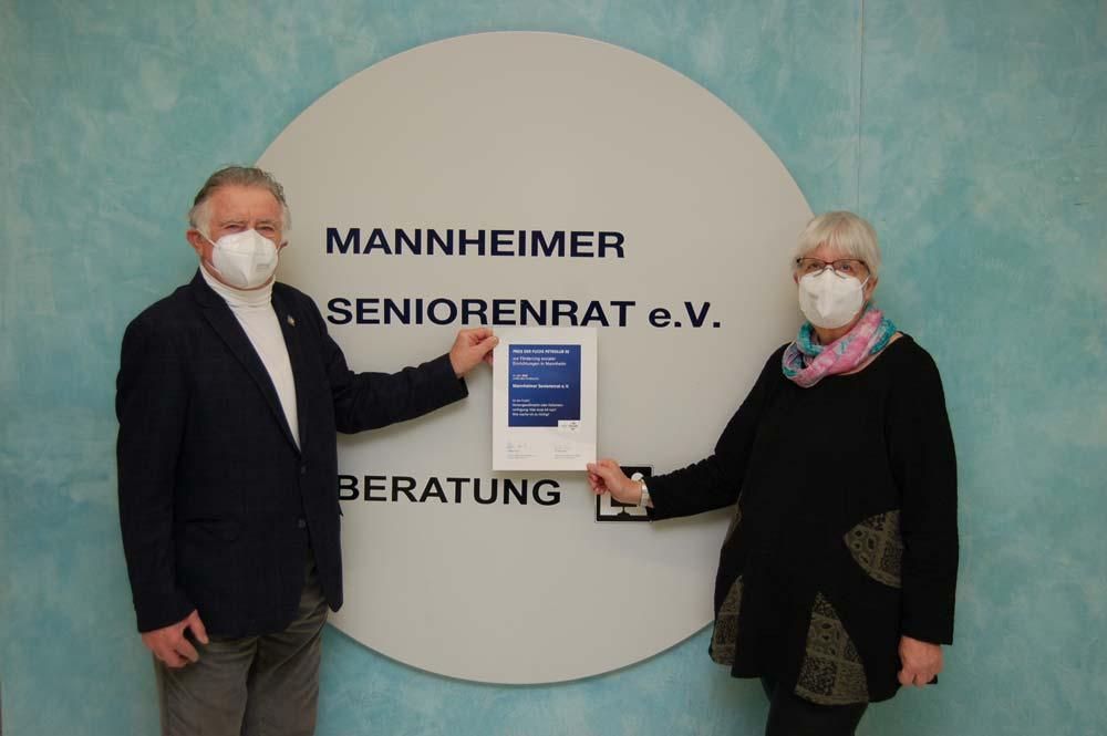 Konrad Schlichter und Marianne Bade-FUCHS Förderpreis
