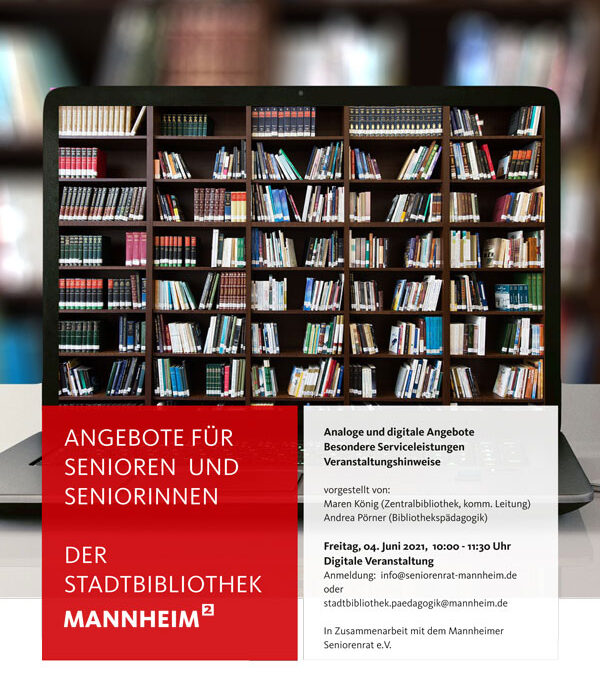 Seniorenrat und Stadtbibliothek gehen gemeinsam online
